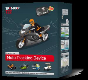 GPS paikannin moottoripyörään
